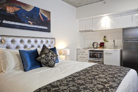 Studio King or Twin Apartment